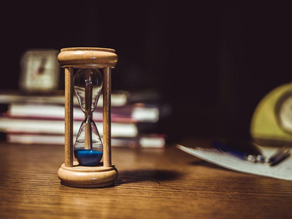 時間を示す画像