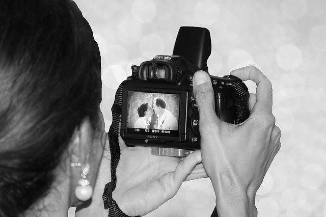 結婚式の写真撮影