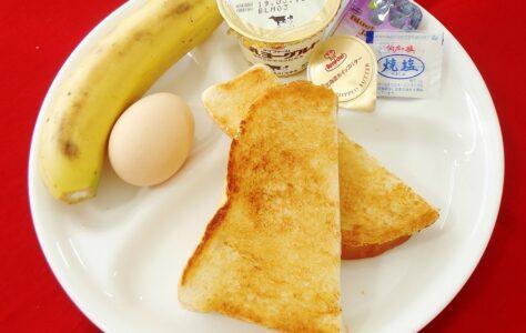 東予港行きの朝食