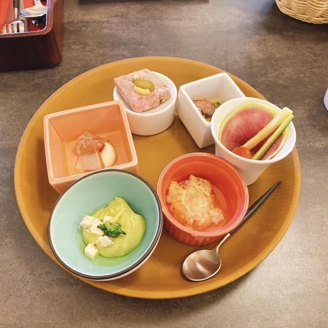 ホテルピエナ神戸 前菜